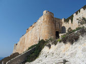 Bonifacio fortification, Corsica — Stock Photo