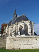 The Sainte-Chapelle (Holy Chapel), Champigny sur Veude , France — Stock Photo