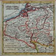 Stock Photo: Original antique Netherlands map
