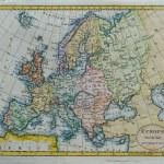 carte de l'europe antique originale — Photo #16169107