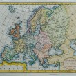 Stock Photo: Original antique europe map