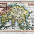 Stock Photo: Original antique map of Asia