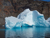 Bergy bit, Greenland — Stock Photo