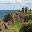Dunnottar castle, Scotland north east coastline — Stock Photo