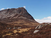 Cairngorms mountains, Devil's point, Scotland in spring — Photo