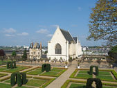 Angers castle garden, april 2013 — Stock Photo