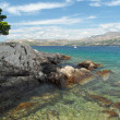 Cavtat shore, Croatia — Stock Photo