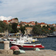 Cavtat, Croatia, august 2013, old harbor — Stock Photo