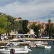 Cavtat, Croatia, august 2013, old harbor — Stock Photo #30963289