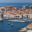 Dubrovnik, Croatia, panorama of the medieval city — Stock Photo