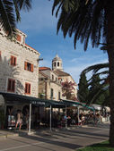 Cavtat, Croatia, august 2013, old city — Foto Stock