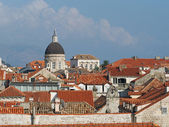 Dubrovnik historic town cathedral, Croatia — Stock Photo