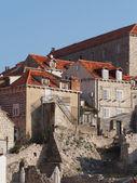 Dubrovnik, croácia, agosto de 2013, cidade medieval — Fotografia Stock