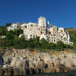 Stock Photo: Dubrovnik, august 2013, ruins of Hotel Belvedere, Croati