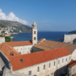 Dubrovnik, august 2013, Croatia, franciscan monastery — Stock Photo