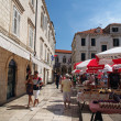 Stock Photo: Dubrovnik, august 2013, Croatia, street and market