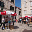 Stock Photo: Dubrovnik, Croatia, august 2013, historic town marketplace