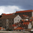 Stock Photo: Dubrovnik, august 2013, Croatia, old city seen from fortific