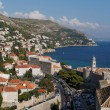 Dubrovnik, august 2013, Croatia, Ploce — Stock Photo