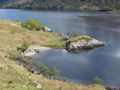 Loch Arkaig, Scotland in spring — Stock Photo
