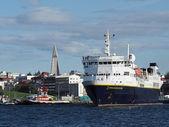 REYKJAVIK, ICELAND-JULY 29 : National Geographic explorer leavin — Stock Photo