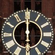 Antique church tower clock — Foto Stock