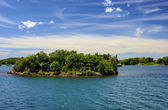 Thousand Islands National Park Ontario Canada near Kingston acro — 图库照片