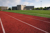 Modern Athletic Field at a Large Private University — Stock Photo