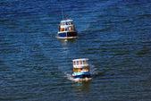 Trasporti traghetti isola di granville sulla false creek insenatura vanc — Foto Stock