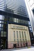 La bourse de Toronto tsx ancien et le nouveau bâtiment sur la rue bay — Photo