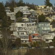View of White Rock Residential neighborhood near the beach Small — Stock Photo