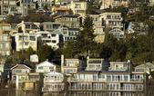 View of White Rock Residential neighborhood near the beach Medium — Stock Photo