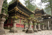 Japanese Shinto Buddhist temples in Nikko — Stock Photo