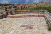 City Square in the ruins od late Roman city Bargala — Stock Photo