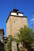 Medieval Ottoman clock tower in Shtip Macedonia — Stock Photo