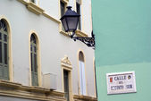 Calle del recinto sur at El Viejo San Juan — Photo