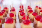 Party appetizers — Stock Photo
