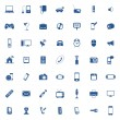 Technology icon set — Vettoriali Stock