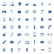 Technology icon set — Stock Vector