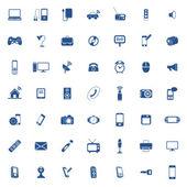 Jeu d'icônes de technologie — Vecteur