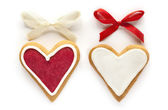 Ginger Hearts for Valentine's and Wedding Days — Stock Photo