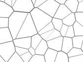 Cracks seamless black and white background — Stock Photo