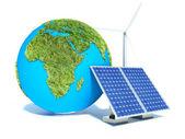 Alternatieve energie — Stockfoto