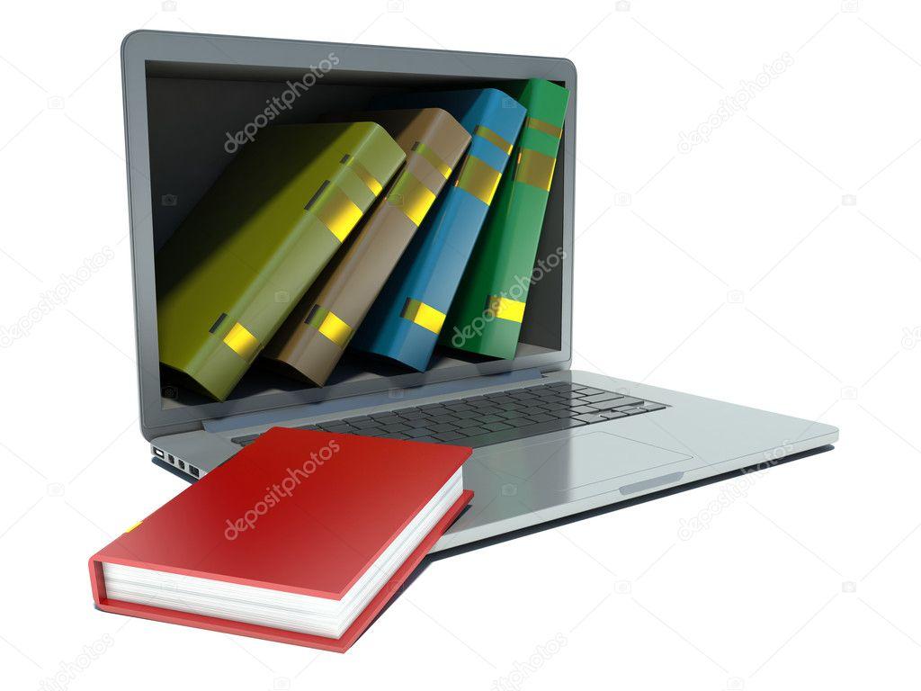 И книжки с электронных библиотек