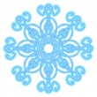 Royalty-Free Stock Imagem Vetorial: Decorative abstract snowflake.