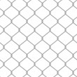 Vector illustration of chain fence. Seamless pattern — Cтоковый вектор #14900941