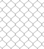Vector illustration of chain fence. Seamless pattern — Stock Vector
