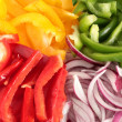 Cut vegetables — Stock Photo