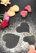 Hearts valentines day — Stock Photo