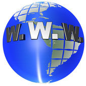 Web Global — Stock Photo